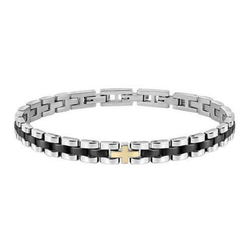 Morellato Pánský ocelový náramek Gold SATM04