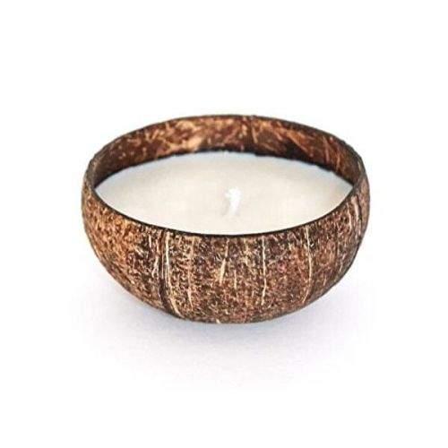 Tropikalia Svíčka z kokosu - vůně kokos
