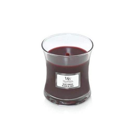Woodwick Vonná svíčka váza malá Velvet Tobacco 85 g