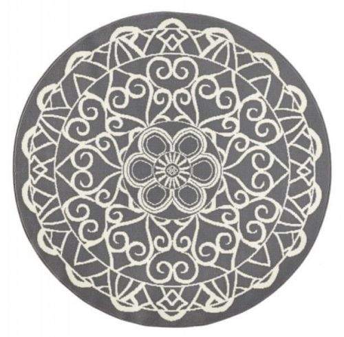 Zala Living AKCE: 140x140 (průměr) kruh cm Kusový koberec Capri 102568 140x140 (průměr) kruh