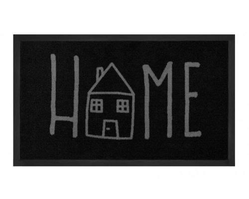Hanse Home AKCE: 45x75 cm Protiskluzová rohožka Printy 103801 Anthracite Grey 45x75