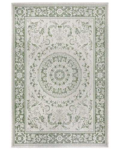 Hanse Home AKCE: 80x150 cm Kusový orientální koberec Flatweave 104813 Cream/Green 80x150