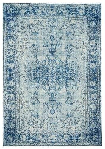 Hanse Home AKCE: 200x290 cm Kusový orientální koberec Chenille Rugs Q3 104800 Blue 200x290