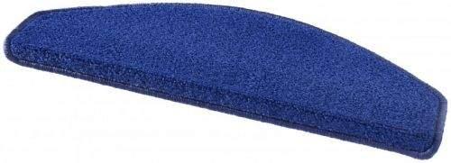 Hanse Home AKCE: 23x65 půlkruh, sada 15 ks cm Sada 15ks nášlapů na schody: Fancy 103007 modré 23x65 půlkruh (rozměr včetně ohybu), sada 15 ks