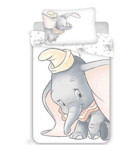 Jerry Fabrics Disney povlečení do postýlky Dumbo grey 100x135, 40x60 cm