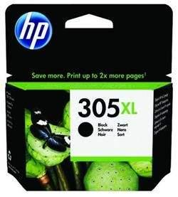 HP Inc Čierna originálna atramentová kazeta HP 305XL s vysokou výťažnosťou