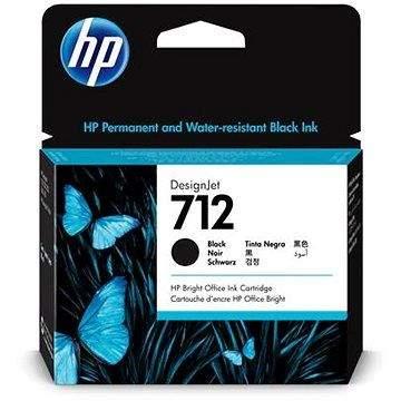 HP 3ED71A č. 712XL černá