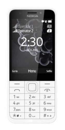 Nokia 230 Dual SIM stříbrný