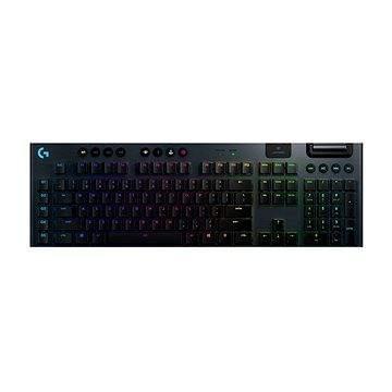 Herní klávesnice Logitech G915 LIGHTSPEED US GL Clicky - US