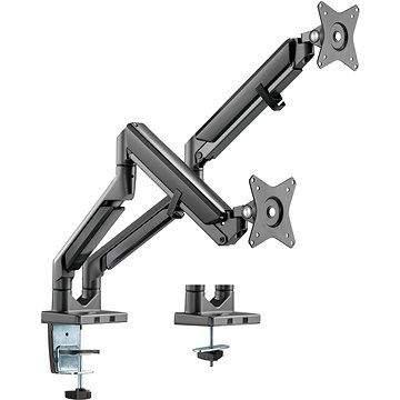 Držák na monitor AlzaErgo Arm D120B Premium