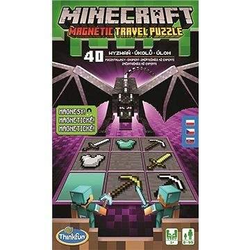 Ravensburger Thinkfun 764327 Minecraf Magnetická cestovní hra