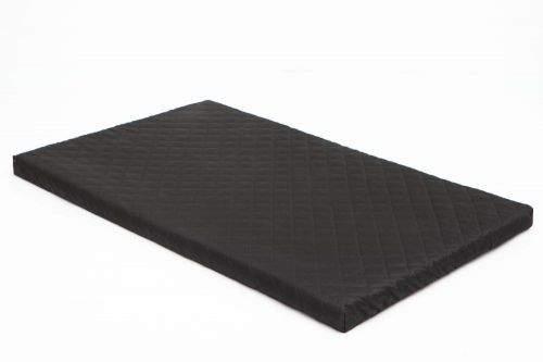 HobbyDog Matrace pro psa Delux - černá Velikost: XXL - 103 x 63 x 4,5 cm
