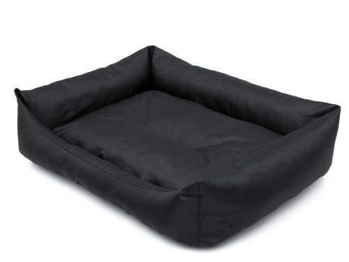 HobbyDog Pelíšek pro psa Economy - černý Velikost: L - 62x43 cm (44x32 cm)