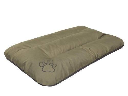 HobbyDog Matrace pro psa Economy - zelená khaki Velikost: R1 - 90 x 60 x 8 cm