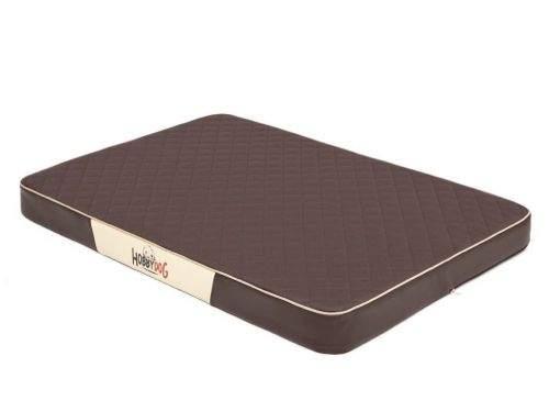 HobbyDog Ortopedická matrace pro psa Premium - hnědá Velikost: L - 100 x 67 x 8 cm