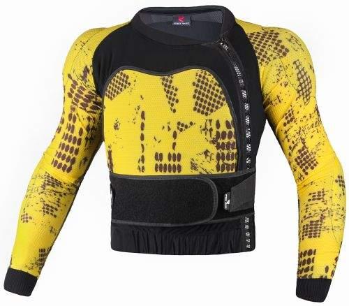 Chránič těla Street Racer Royal žlutý, S