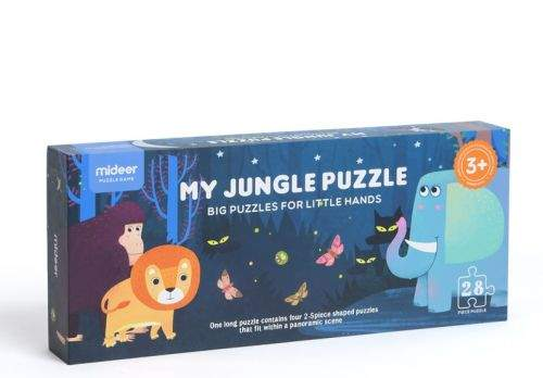 MiDeer Moje džungle puzzle 28 dílků