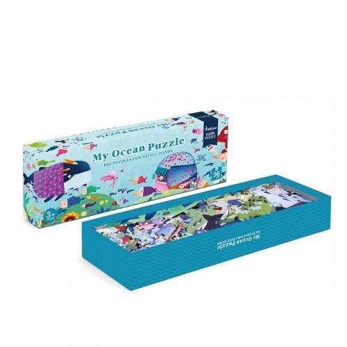 MiDeer Můj velký svět Oceánu puzzle 56 dílků