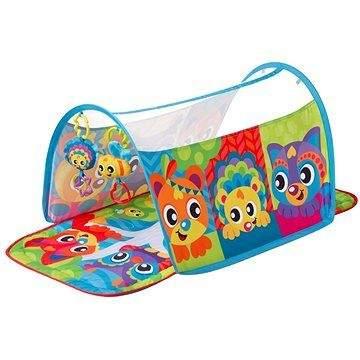 Playgro Hrací deka s tunelem Zvířátka
