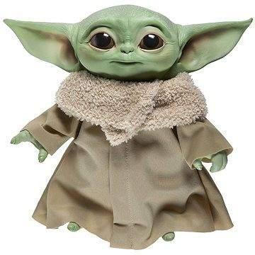 Hasbro Star Wars Baby Yoda plyšová mluvící figurka 19 cm