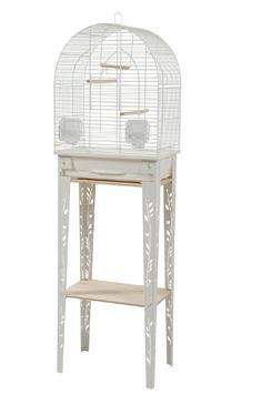 Klec ptáci CHIC PATIO S bílá Zolux