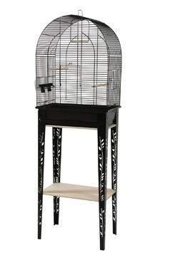 Klec ptáci CHIC PATIO M černá Zolux