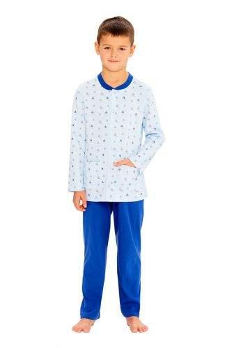 Wadima Chlapecké pyžamo s dlouhým rukávem 50491 882 modrá 128