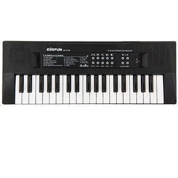 Teddies Piánko 37 kláves napájení na USB + mikrofon