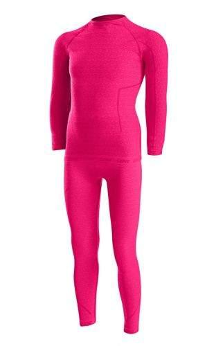 Termoprádlo LENZ Underwear Set Kids Růžová 110/116