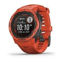 GPS hodinky Garmin Instinct Solar Red Optic