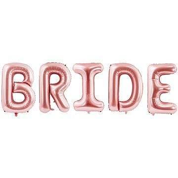 Party Deco Foliový balónek, 280x86 cm, Bride, růžový