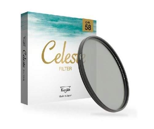 Série filtrů Kenko C-PL filtr CELESTE 58mm