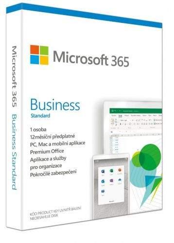 Microsoft 365 Business Standard CZ - předplatné na 1 rok