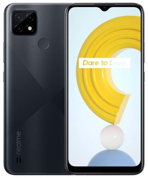 Realme C21, 4GB/64GB, Cross Black