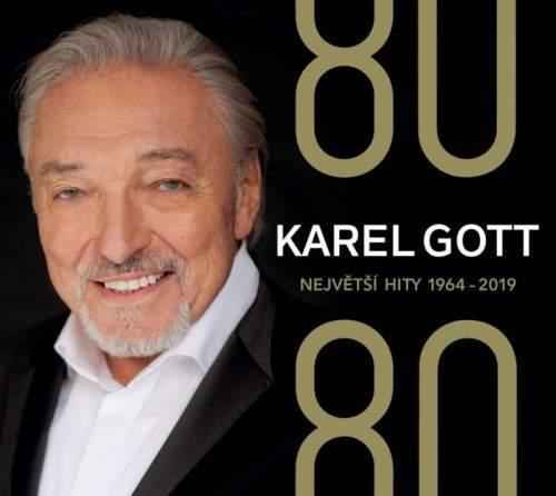 Karel Gott: 80 - Největší hity 1964-2019 (4 CD)