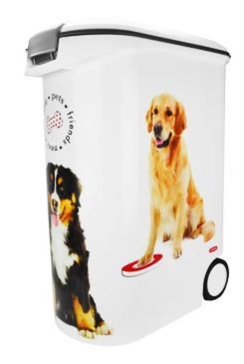Curver kontejner na krmivo psi 20kg (54L)