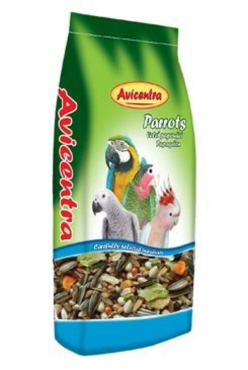 Avicentra Classic menu velký papoušek 15kg