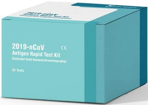 Beijing Lepu Medical Technology SARS-CoV-2 Antigen Rapid Test Kit 25 ks