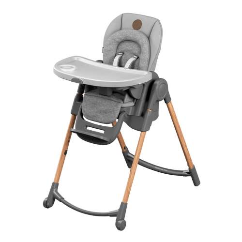 MAXI-COSI Rostoucí jídelní židlička Minla Essencial Grey