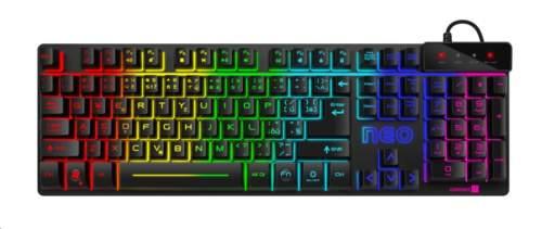 CONNECT IT klávesnice NEO, černá, gaming (CZ+SK verze) CKB-3590-CS
