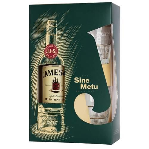 Jameson Irish Whisky 0,7l 40%+2xSklo