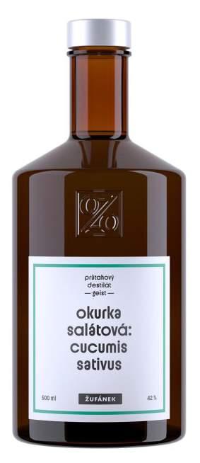 Žufánek Okurka salátová 42% 0,5L - Okurkovice