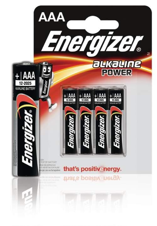 Energizer Power AAA LR031.5V. alkalické, 4ks