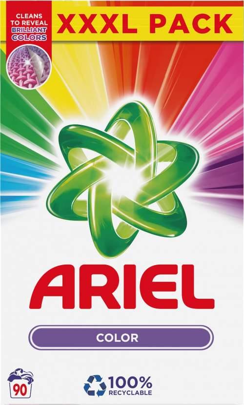 Ariel Color prací prášek na barevné prádlo 90 dávek 6,75 kg
