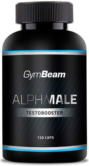GymBeam AlphaMale TestoBooster unflavored - 120 kaps