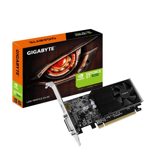 GIGABYTE GeForce GT 1030 Low Profile D4 2G