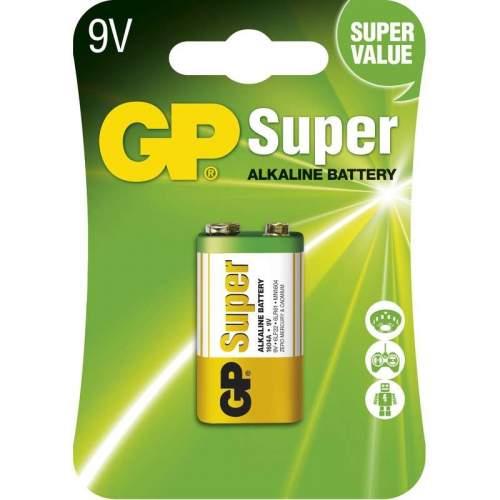 GP Super alkalická 9V, 1ks