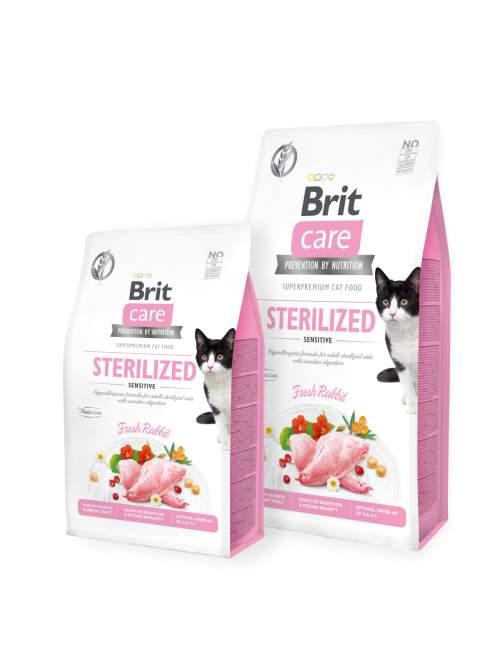 Brit Care Cat GF Sterilized Sensitive 7kg