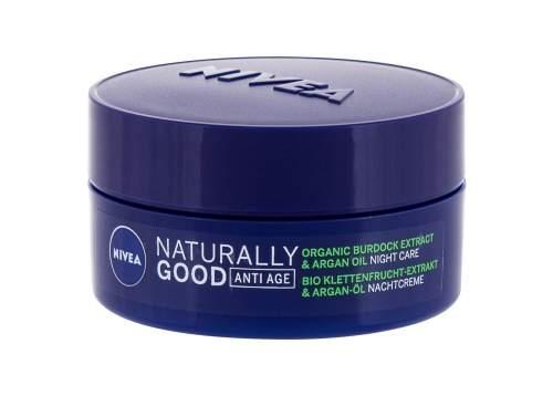 Naturally Good noční krém proti vráskám, 50 ml - Nivea