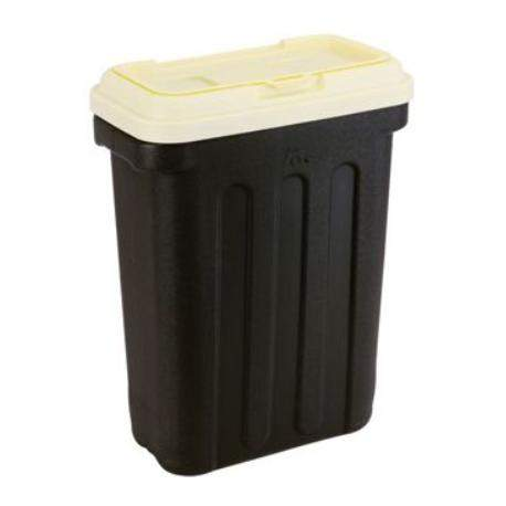 Maelson Box na granule pro 20 kg krmiva černo-béžový 54 × 31 × 58 cm